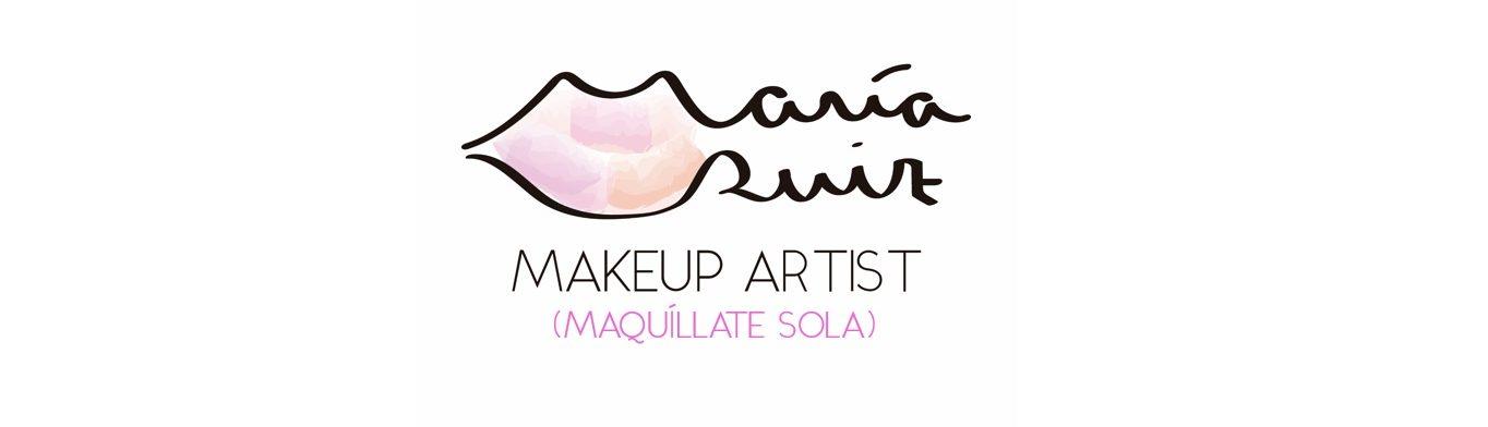 MARÍA RUIZ MAKEUP ARTIST – MAQUÍLLATE SOLA