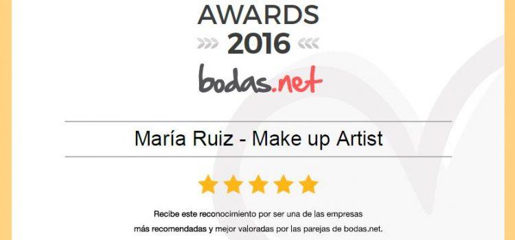 WEDDING AWARDS 2016  DE BODAS.NET