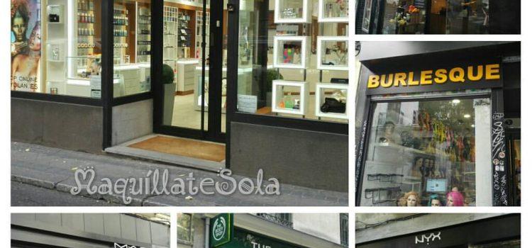 LA RUTA DE LA COSMÉTICA (MADRID)